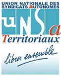 le logo de l'UNSA territoriaux